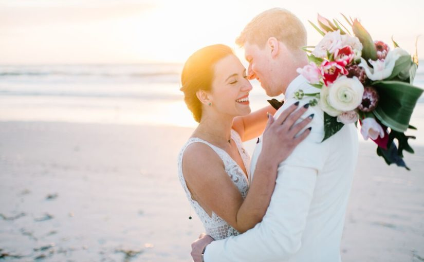 Modern Tropical St Pete Wedding