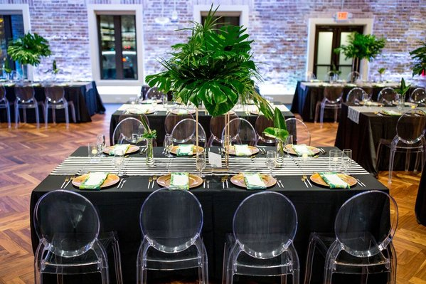 Modern Tropical St Pete Wedding- A Chair Affair