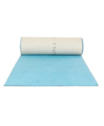 Sky Blue Aisle Carpet Runner - A Chair Affair Rentals