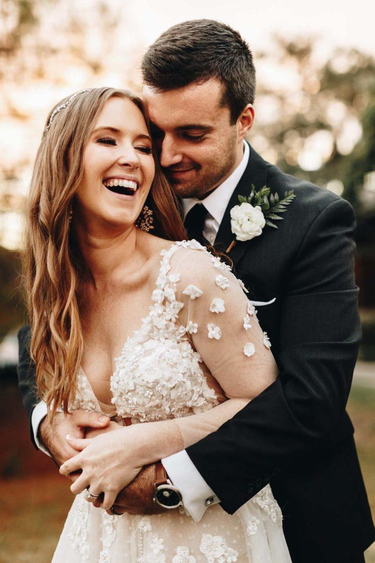 Historic Dubsdread Bride and Groom