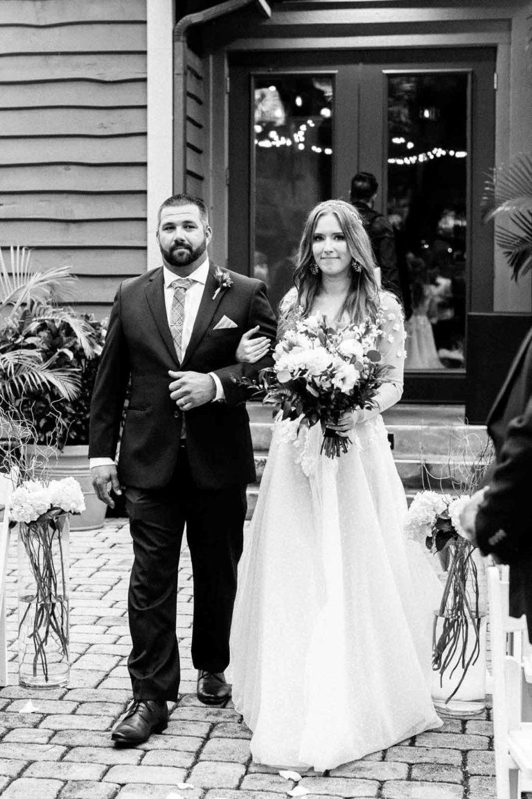 Historic Dubsdread Romantic Ceremony
