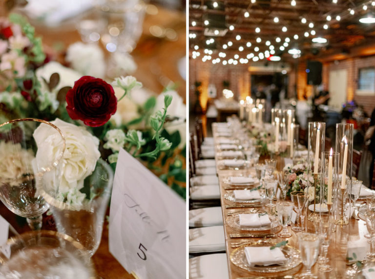 Reception Decor with Bokeh
