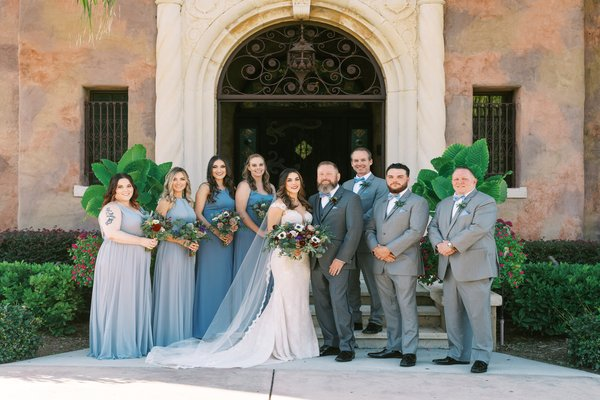 Romantic Howey Mansion Wedding