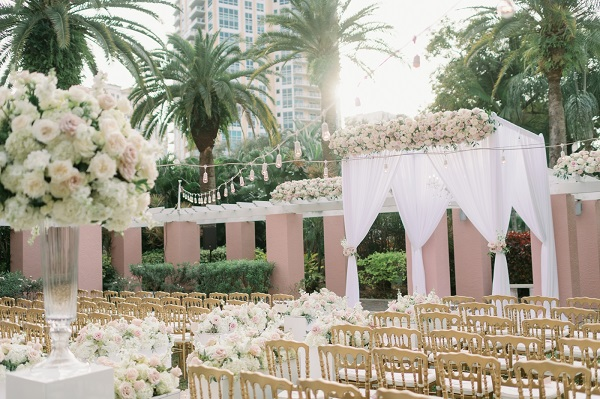 Vinoy Wedding- A Chair Affair-Enchanted Garden Wedding