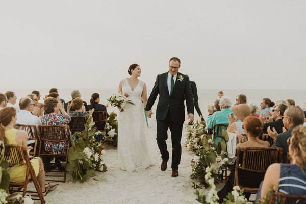 Boho Chic Beachside Wedding