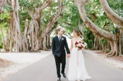Gasparilla Inn and Club Outdoor Wedding