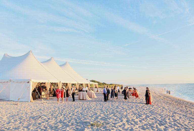 Sharkys on the Pier Beach Wedding
