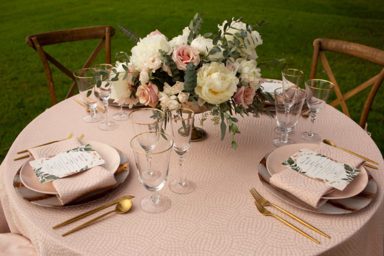 table decor outdoors