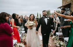 Bella Collina Gold and Muted Color Wedding