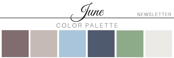 June 20 Color Palette - A Chair Affair