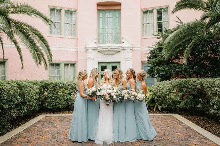 Bride with Bridesmaids at The Vinoy Renaissance