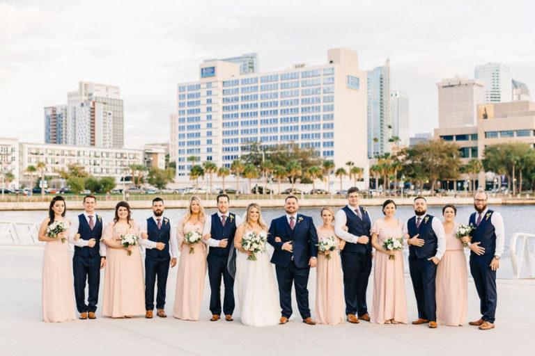 Tampa FL Wedding Bridal Party