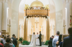 Regal White and Gold St. Pete Wedding