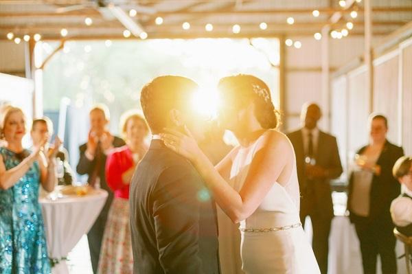 Intimate Backyard Wedding-A Chair Affair
