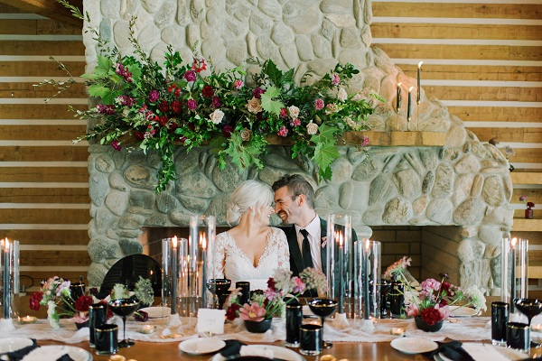 Moody Romance Fall Wedding