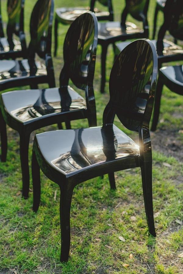 A Chair Affair-smoke bomb wedding