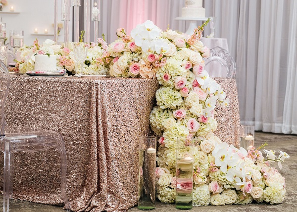 Glamorous Blush Wedding-A Chair Affair