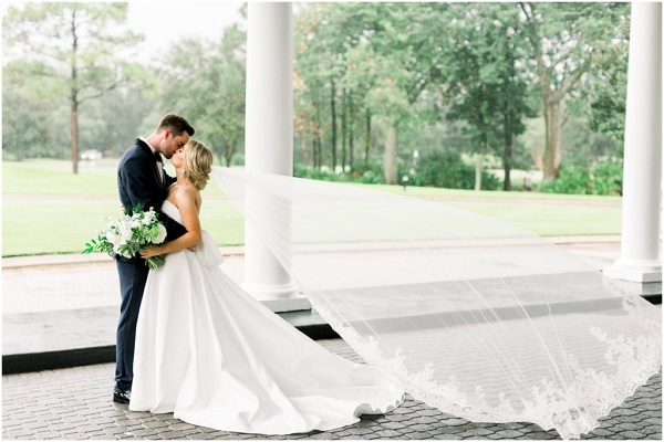 Lake Nona Dusty Blue Wedding