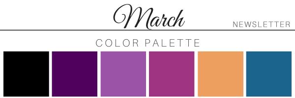 March 21 Color Palette - A Chair Affair