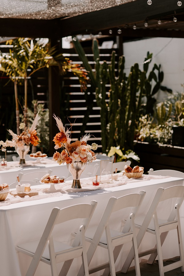 A Chair Affair-Boho Floral Wedding