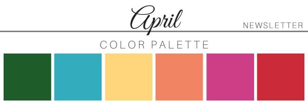 April 21 Color Palette - A Chair Affair