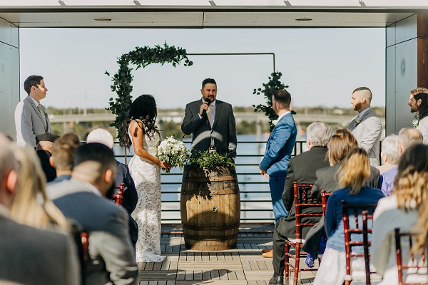 Rooftop 220- A Chair Affair- brunch wedding