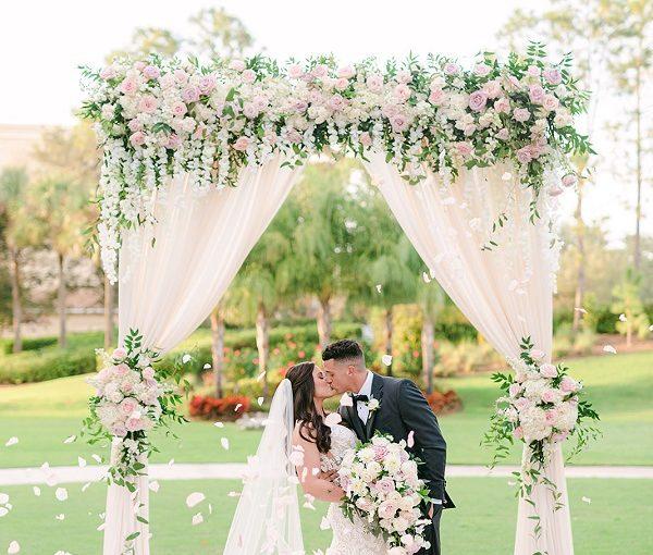 Romantic Floral Omni Resort Wedding