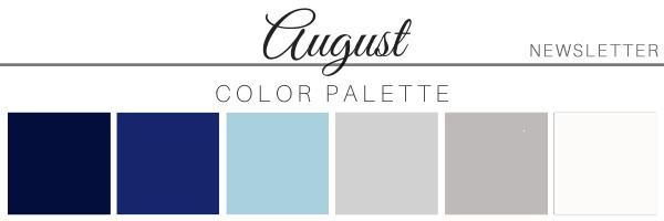 August 21 Color Palette - A Chair Affair
