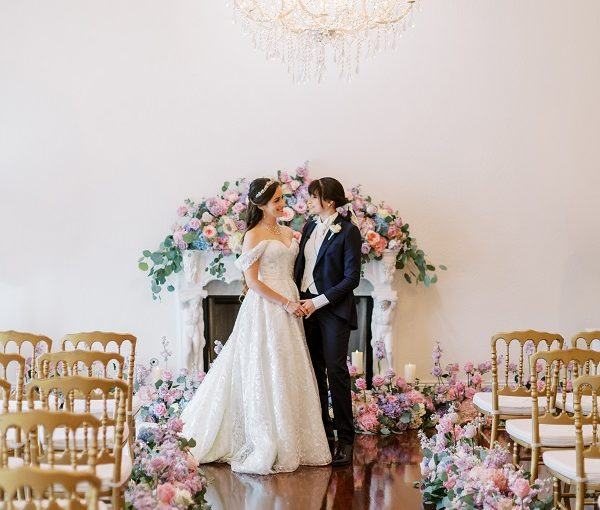 Luxmore Grande Estate – A Romantic Floral and Gold Wedding