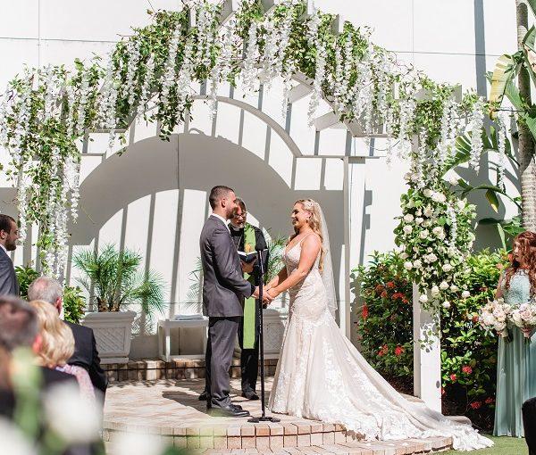 A Romantic Floral Wedding in Sarasota