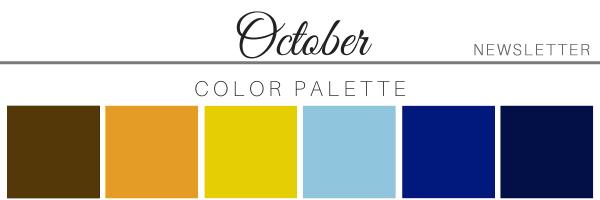 October 21 Color Palette - A Chair Affair