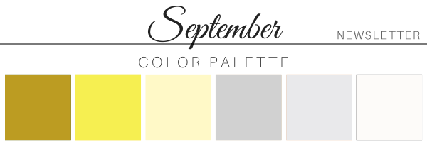 September 21 Color Palette - A Chair Affair